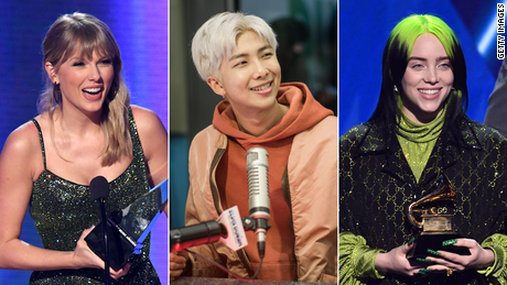 Grammys 2021 performers will include Taylor Swift, BTS and Billie Eilish