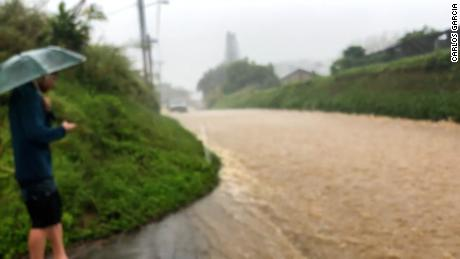 Scenes from the flooding in Maui County, Hawaii, on March 8, 2021.