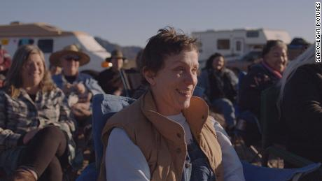 "Frances McDormand stars in ""Nomadland"" (2020), directed by Chloe Zhao"