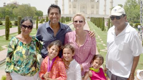 Dr. Gupta and his family are figuring out how to navigate their lives going forward