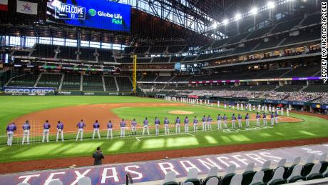 MLB's Texas Rangers could be the first team with a full house since the pandemic stopped sports