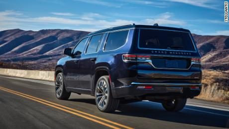 The Jeep Grand Wagoneer will be available later this year.