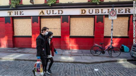 There are Irish pubs all over the world. In Ireland they're in big trouble