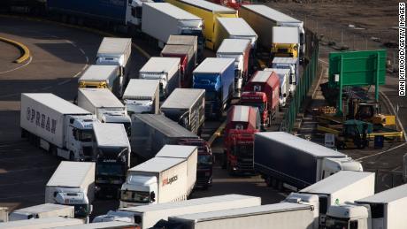 بریکسٹ تجارت کو مارتے ہوئے یورپ کو برطانیہ کی برآمدات میں 41 فیصد کمی واقع ہوئی ہے