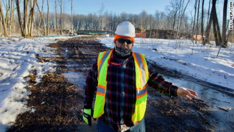 Jim Jones surveyed the route for Enbridge to steer the pipeline clear of important Native American sites.