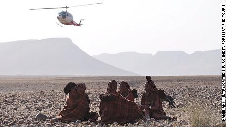 Airlift translocations enable researchers to relocate rhinos to hard-to-access areas, like Namibia's northern Kunene region.