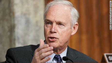Ron Johnson reveals the racism of the Capitol riot reaction
