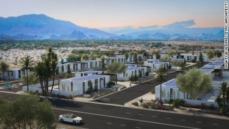 The first 3D-printed housing community in the US is being built in the California desert
