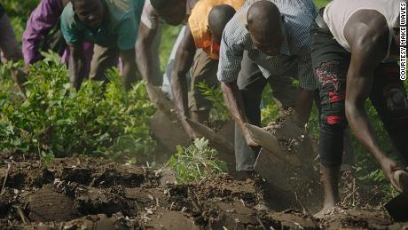As well as restoring land, the initiative hopes to provide employment and food security to local communities.