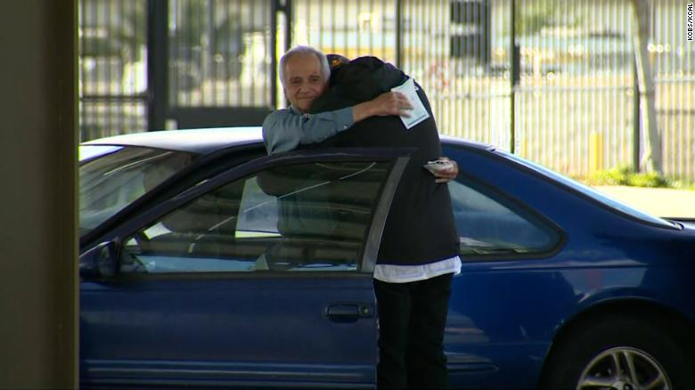 A substitute teacher living in his car got a birthday surprise of $  27,000 from a former student