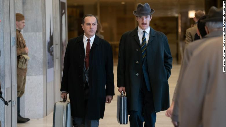 'The Courier' delivers Benedict Cumberbatch in a taut Cold War thriller