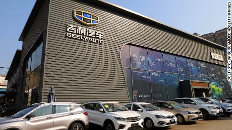 Geely is spending $4.6 billion on a battery plant as its electric car ambitions grow