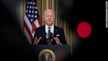 Biden says administration will meet goal of 100 million vaccinations Friday