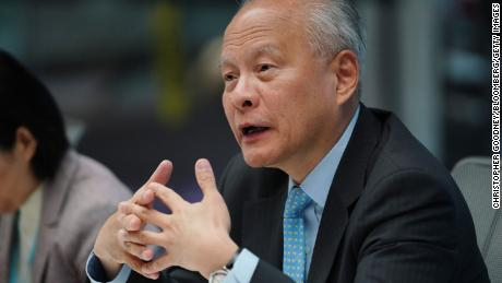 China's ambassador to US says he doesn't have 'high expectations' for Alaska summit with Biden officials