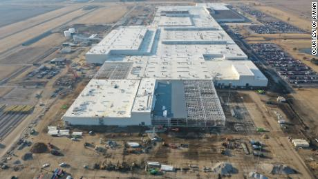 Rivian is expanding its factory in Bloomington-Normal, Illinois. (Courtesy, Rivian)