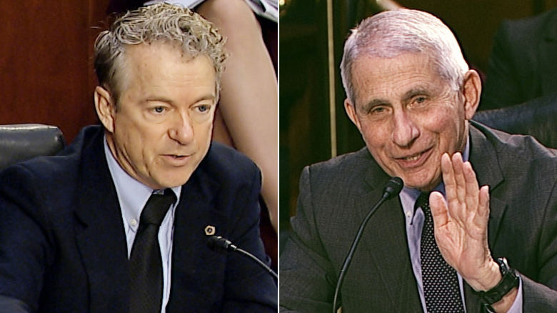 Rand Paul Accuses Dr. Fauci Of Wearing Two Masks For Political 'Theater'