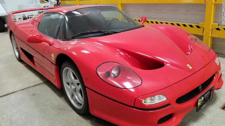 A court could decide who really owns a $  1.9 million Ferrari seized at the US-Canada border