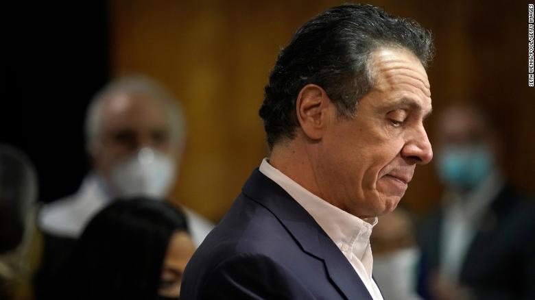 Cuomo hasn't resigned because he still has support from Democratic voters