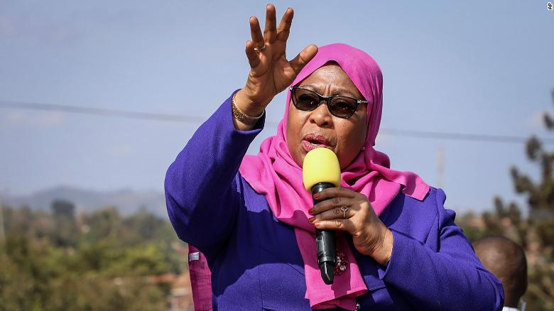 Tanzania swears in Samia Suluhu Hassan as first female president
