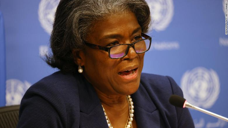 US Ambassador to UN Linda Thomas-Greenfield says 'we need to dismantle White supremacy' and unite against racism