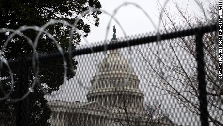 US Capitol outer perimeter fencing to be removed this weekend