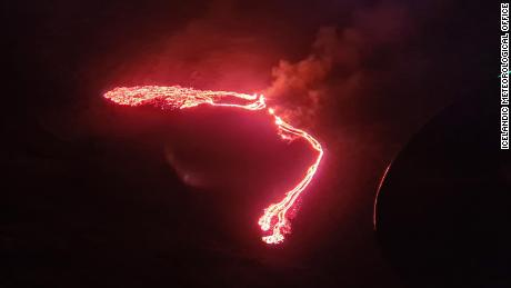 Volcano Erupts in Iceland Near Capital Following Weeks of Seismic Activity