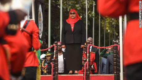 Magafuli's sucessor, Samia Suluhu Hassan, has stressed the importance of mask-wearing in recent days.