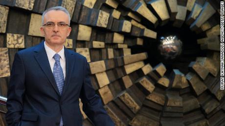 Turkey's lira plunges after Erdogan fires central bank head