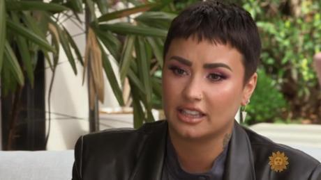 "Demi Lovato opened up about her overdose on ""CBS Sunday Morning.&인용;"