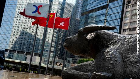 Chinese markets slump as tit-for-tat sanctions raise tension with US and Europe