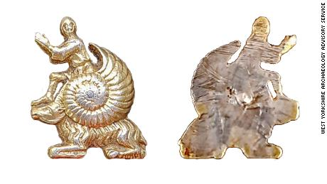 Small silver snail artifact may be a medieval 'meme'