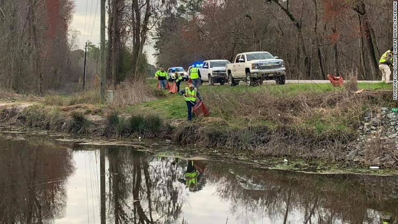 10 dogs found dead in trash bags in a North Carolina ditch