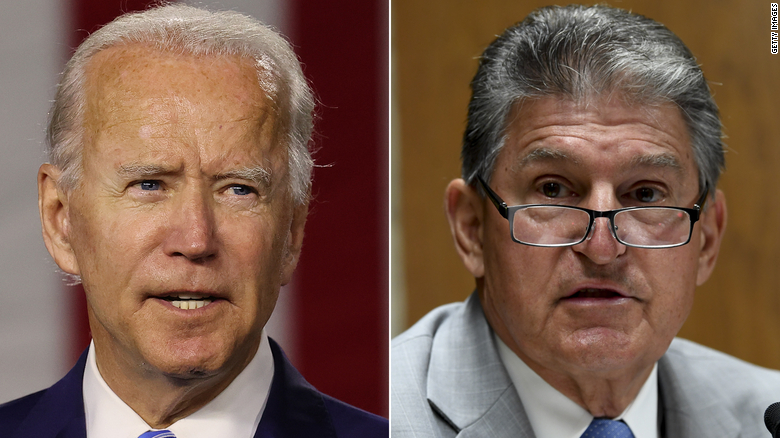 Regular Joes: Biden and Manchin, whose old relationship faces new test