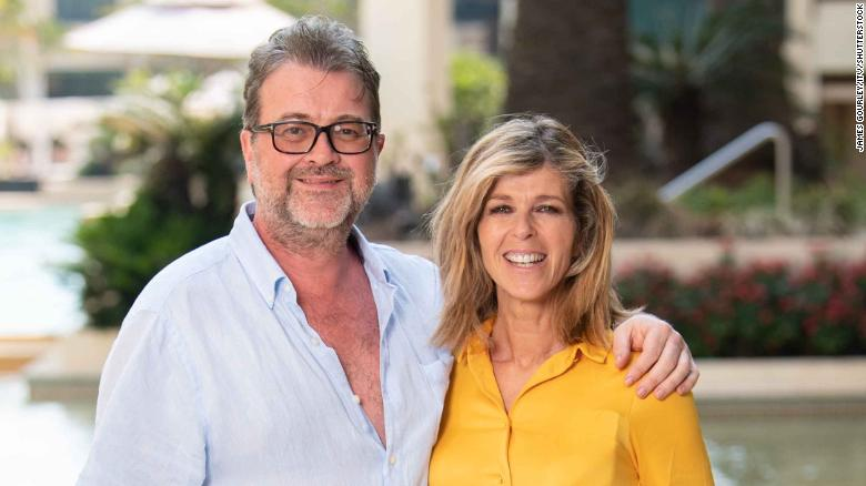 A TV anchor has revealed her husband's year-long hospital ordeal with Covid-19