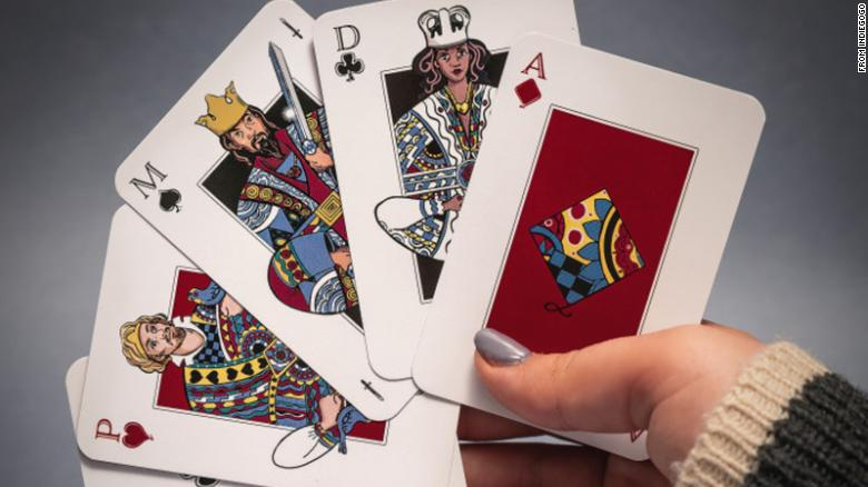 Teen invents playing cards that are gender-equal -- and diverse
