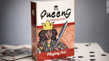 The Queeng Playing Cards: 2nd Edition deck.