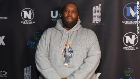 "Rapper Killer Mike attends ""Hip Hop Uncovered"" Atlanta Premiere at Oak Atlanta on February 08, 2021."