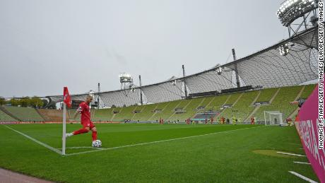 Türkgücü are playing some of their home matches this season at the iconic Olympic Stadium, venue of the 1972 Munich Olympics