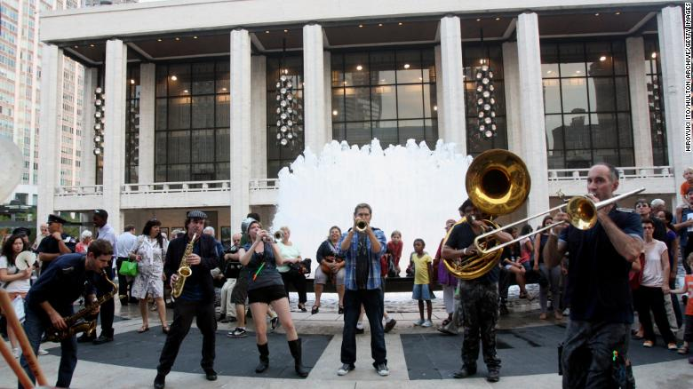 New York will be packed with outdoor performances this spring and summer