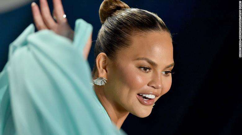 Chrissy Teigen's parting words as she left Twitter