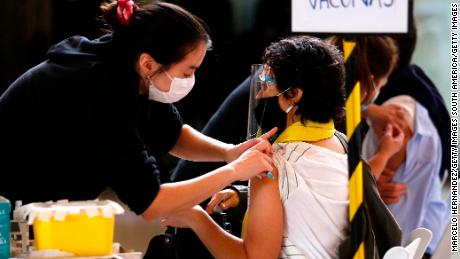 Chile's much-lauded vaccination campaign has not been able to stop a rise in new cases