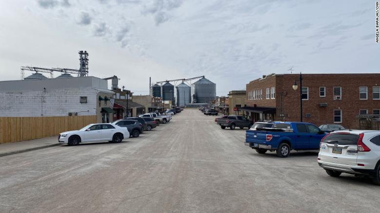 What happened to two small South Dakota towns after Biden revoked the Keystone pipeline permit