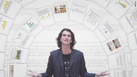 """Co-founder and former CEO Adam Neumann is shown in a scene from """"WeWork: Or The Making and Breaking of a $47 Billion Unicorn."""""""