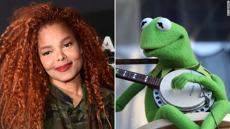 What do Janet Jackson and Kermit the Frog have in common? The Library of Congress just archived their songs
