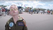 "In ""Fly Like a Girl,"" a young girl aspires to change the face of aviation."