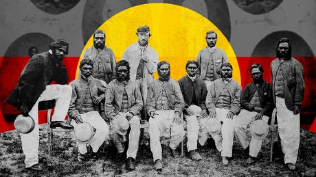 Australia's first international cricket team found fame in the UK. A casa, they were betrayed