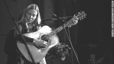 Joni Mitchell, circa 1976