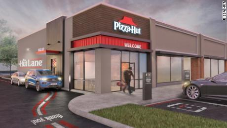 "Pizza Hut is has added ""The Hut Lane"" to more than 1,500 locations."