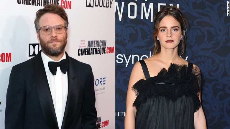 Seth Rogen clarifies comments on Emma Watson 'storming off set'
