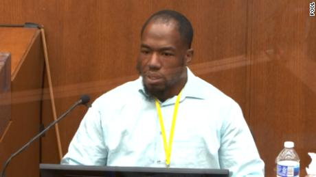 Donald Wynn Williams II testified that he called 911 to report the actions to the police after seeing Floyd's death.
